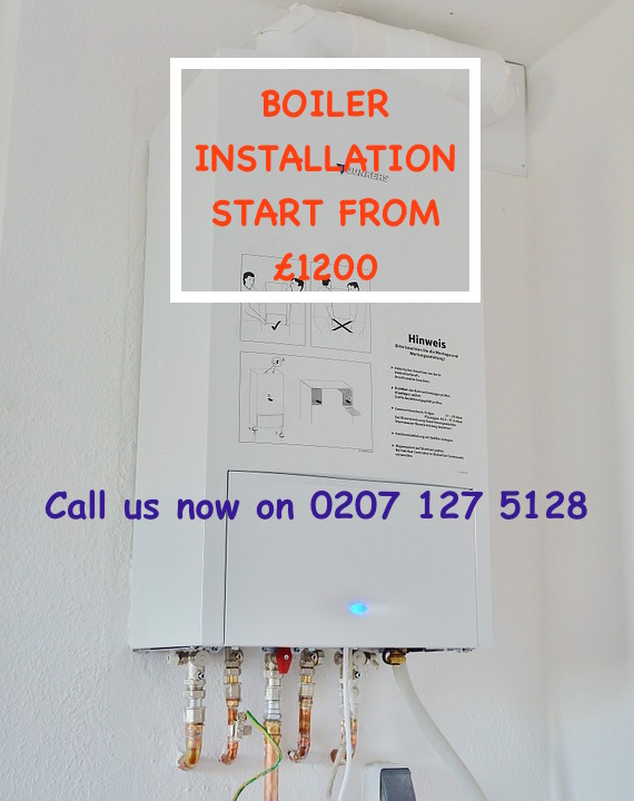 new boiler installations london